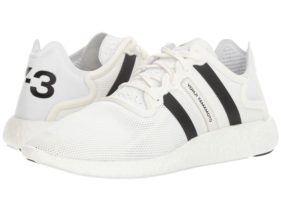 adidas Y-3 by Yohji Yamamoto Y-3 Yohji Run (Footwear White/Crystal White/Core Black) Shoes