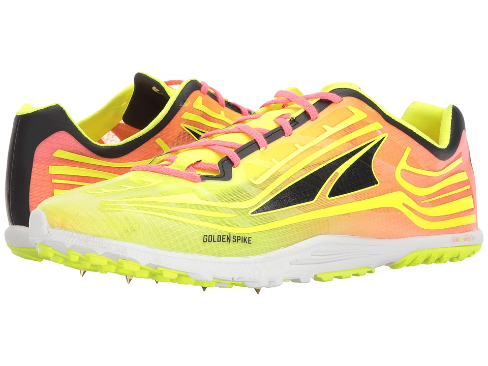 Altra Footwear - Golden Spike (Lime/Pink) Athletic Shoes