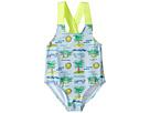 Stella McCartney Kids - Sunnee Fluro Beach Print Swimsuit (Infant/Toddler)