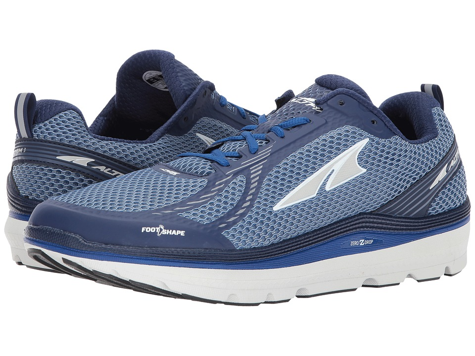 Altra Footwear - Paradigm 3 (Blue) Mens Running Shoes