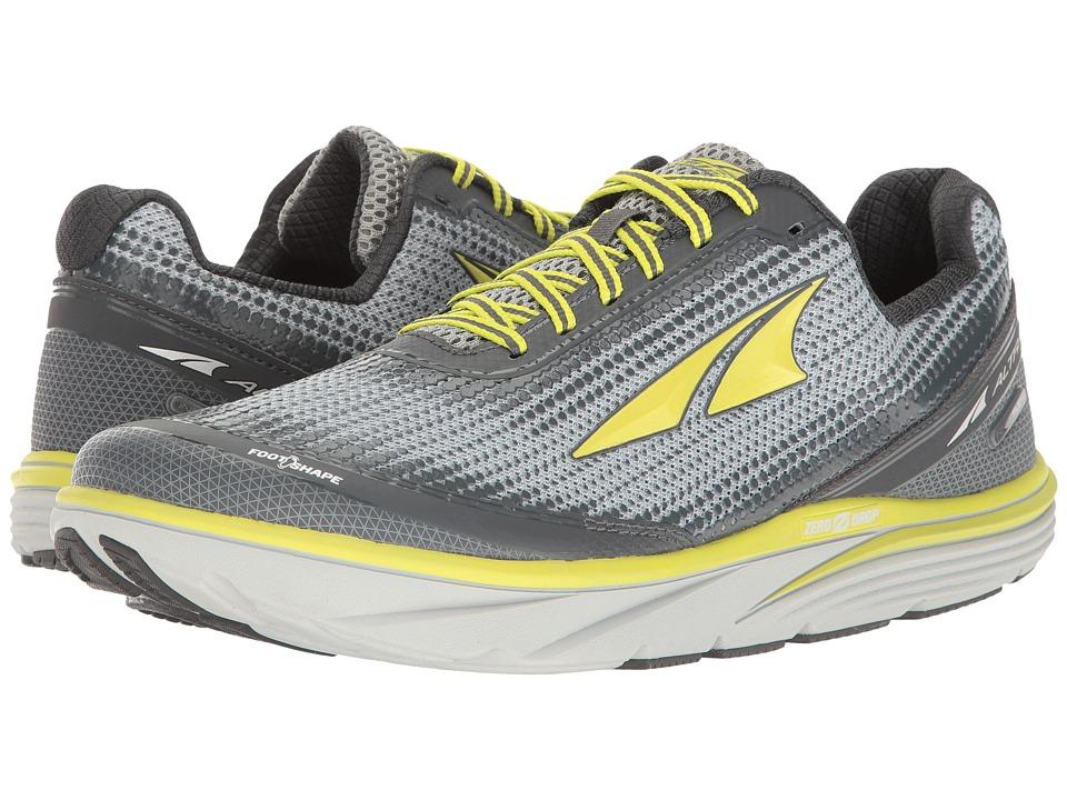 Altra Footwear - Torin 3 (Gray/Lime) Men's Running Shoes