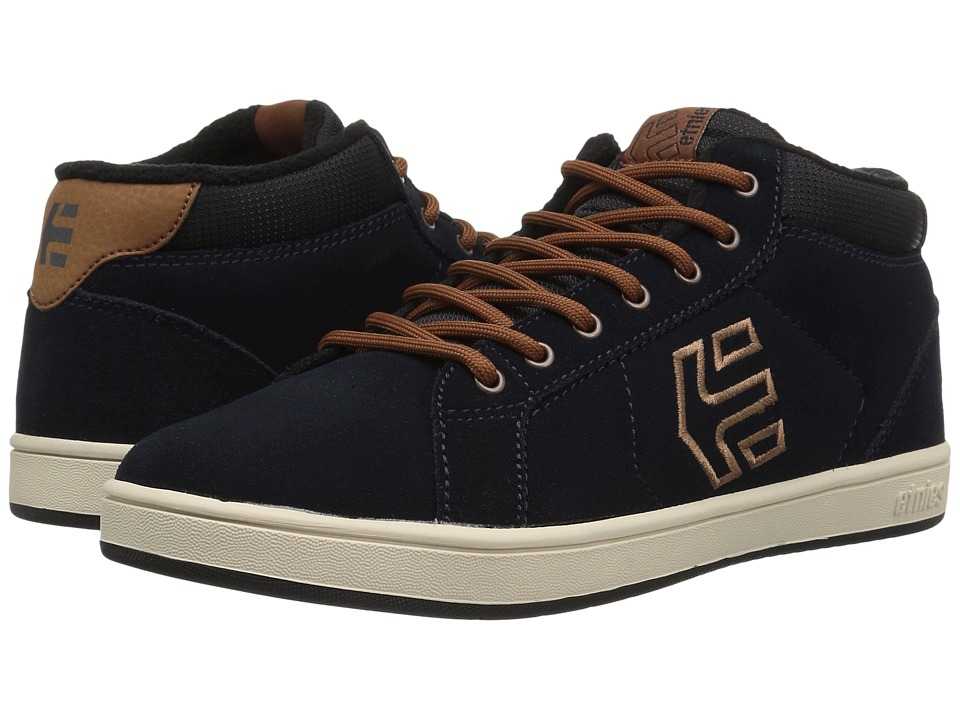 etnies Kids Fader MT (Toddler/Little Kid/Big Kid) (Navy/Brown/White) Boys Shoes