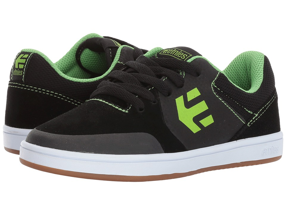 etnies Kids Marana (Toddler/Little Kid/Big Kid) (Black/Lime) Boys Shoes