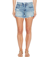 Blank NYC - High-Rise Denim Shorts in One Take Wonder