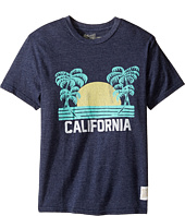 The Original Retro Brand Kids - California Short Sleeve Tri-Blend Tee (Big Kids)