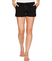 Blank NYC - Lace-Up Shorts in Black