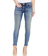 Blank NYC - Cropped Denim Skinny with Raw Edge Detail in Amped Out