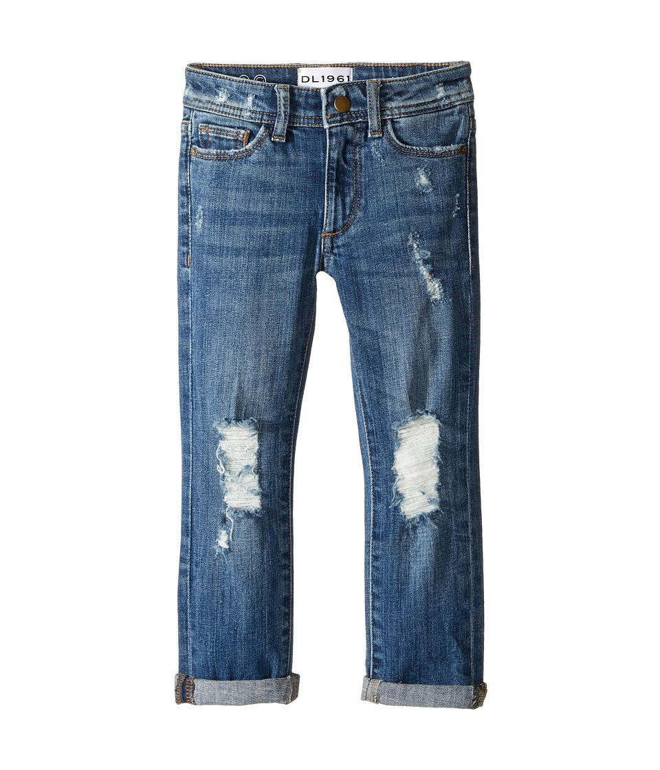 DL1961 Kids Harper Boyfriend Jeans in Collision (Toddler/Little Kids) (Collision) Girl
