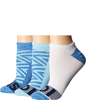 adidas - Adigraphic 3-Pack No Show Socks