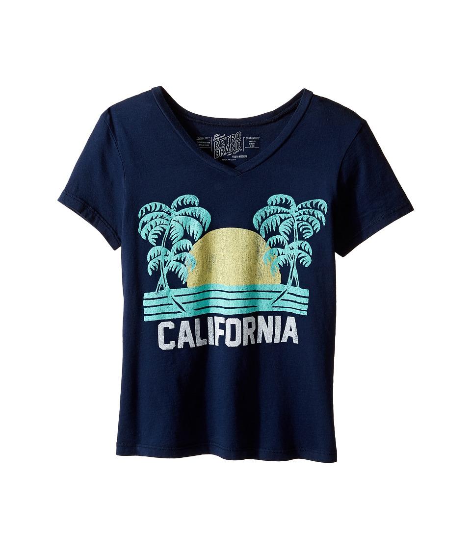 The Original Retro Brand Kids - California Short Sleeve V