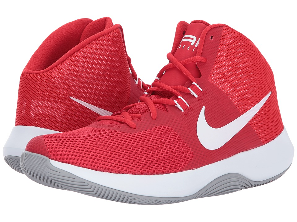 Nike Air Precision (University Red/White/Wolf Grey) Men