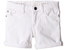 DL1961 Kids - Piper Unstitched Cuffed Jean Shorts in Griffon (Toddler/Little Kids/Big Kids)