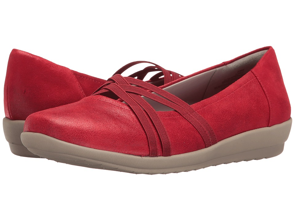Easy Spirit Aubree (Red Fabric) Women