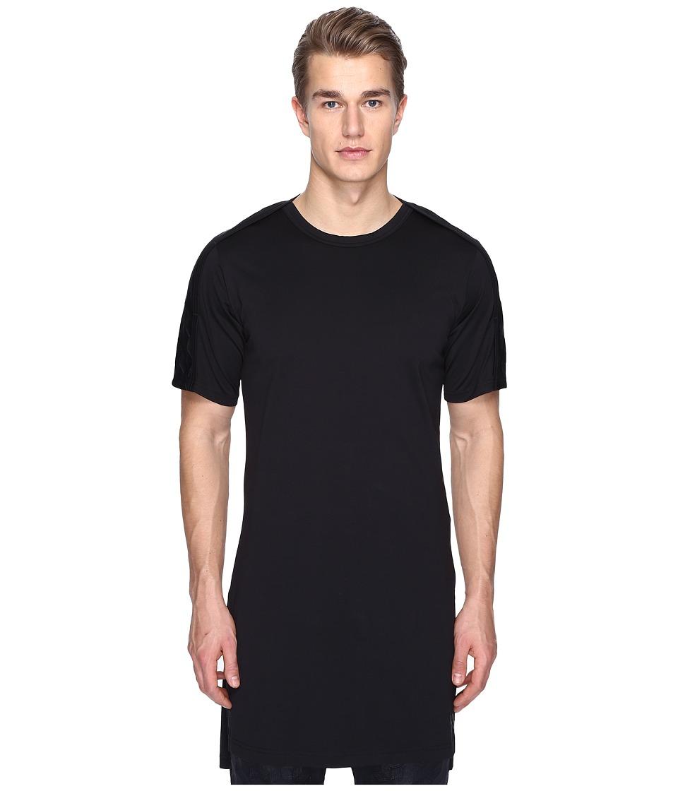 adidas Y-3 by Yohji Yamamoto M 3D Short Sleeve Tee (Black) Men