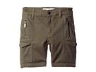 DL1961 Kids - Finn Shorts with Cargo Pockets in Patrol (Toddler/Little Kids/Big Kids)