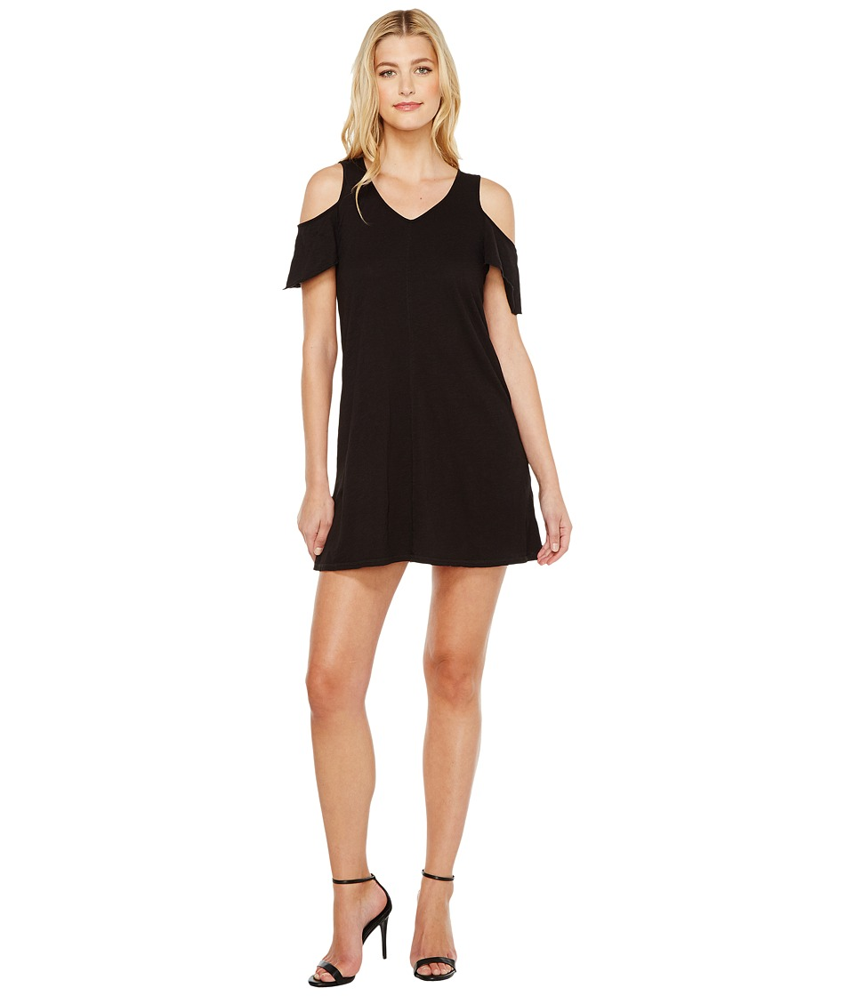 Sanctuary - Jolene Bare Shoulder Dress (Black) Womens Dress