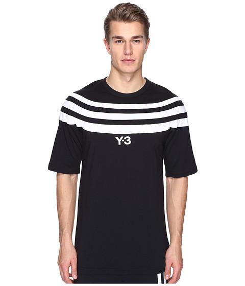 adidas Y-3 by Yohji Yamamoto M 3 Stripe Short Sleeve Tee