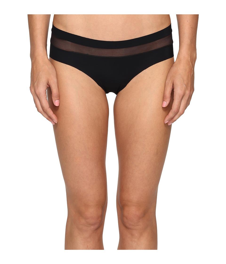 Commando Chic Mesh Hybrid Bikini TU109 (Black) Women's Un...