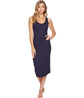 Commando - Sleek Ribbed Cotton Tank Dress RIB301