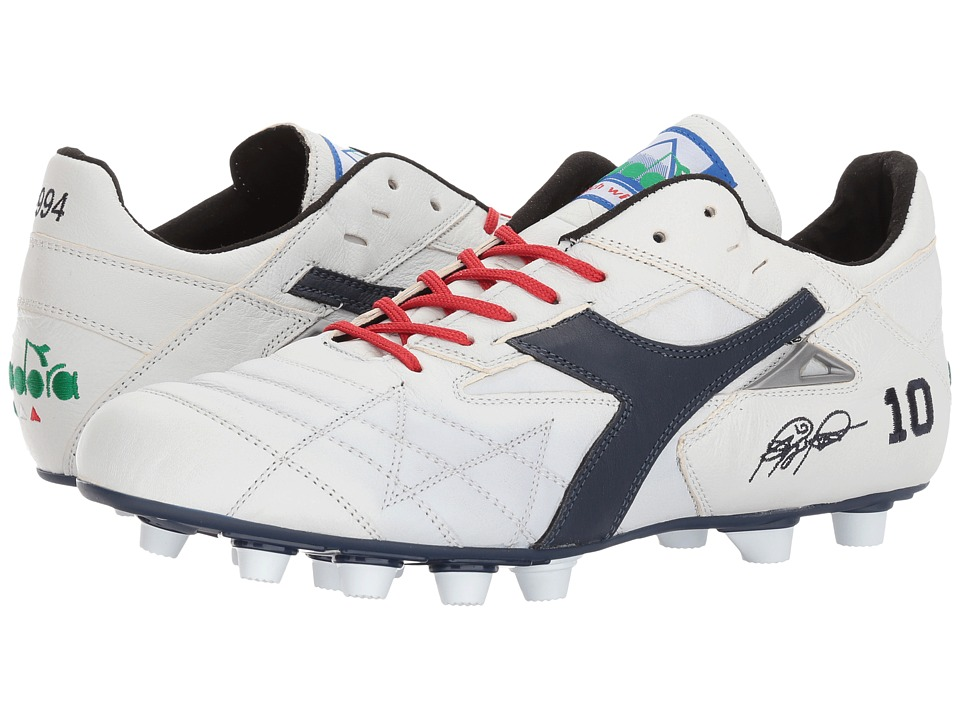 Diadora M. Winner RB Italy OG (White/Corsair) Soccer Shoes