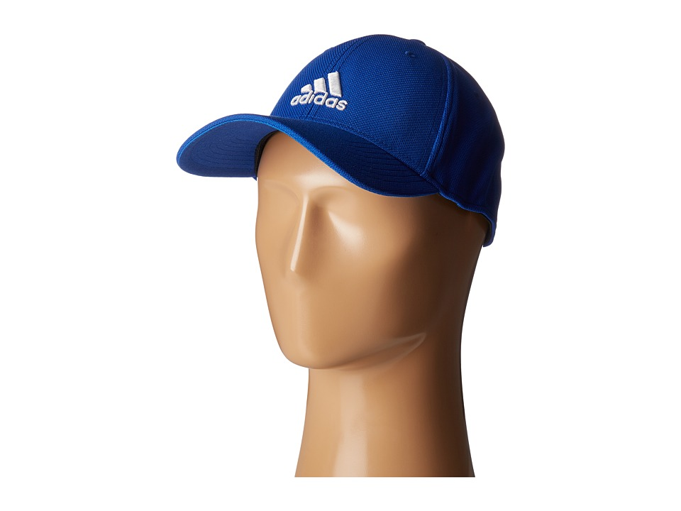 adidas Rucker Stretch Fit (Collegiate Royal/White) Caps