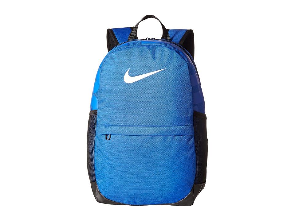 Nike Brasilia Backpack (Little Kids/Big Kids) (Game Royal/Black/White) Backpack Bags