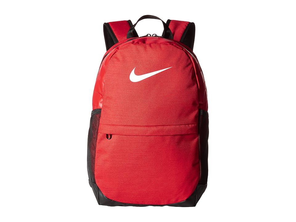 Nike Brasilia Backpack (Little Kids/Big Kids) (University Red/Black/White) Backpack Bags