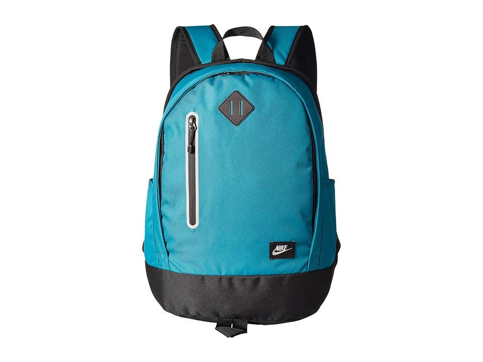 Nike Cheyenne Solid Backpack (Little Kids/Big Kids) (Blustery/Black/Matte Silver) Backpack Bags