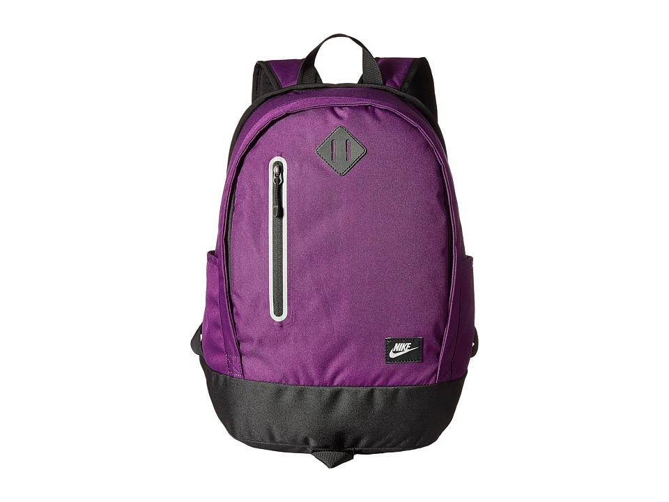 Nike Cheyenne Solid Backpack (Little Kids/Big Kids) (Night Purple/Black/Matte Silver) Backpack Bags