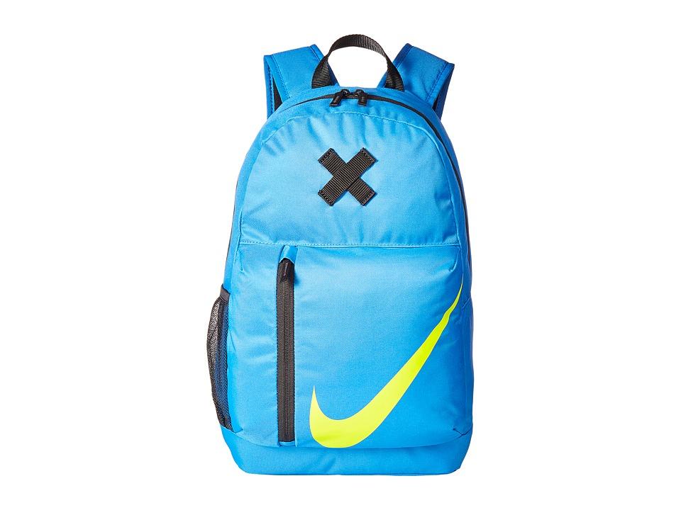 Nike Elemental Backpack (Little Kids/Big Kids) (Star Blue/Black/Bright Cactus) Backpack Bags