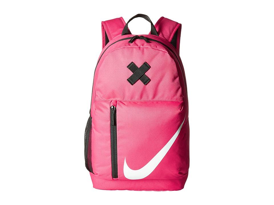 Nike Elemental Backpack (Little Kids/Big Kids) (Rush Pink/Black/White) Backpack Bags