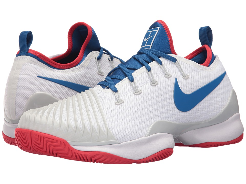 Nike Air Zoom Ultra React (White/Blue Jay/Pure Platinum/A...