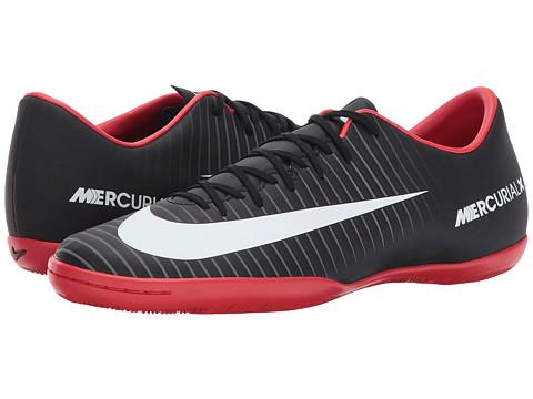 Nike Mercurial Victory VI IC - Black/White/Dark Grey/University Red