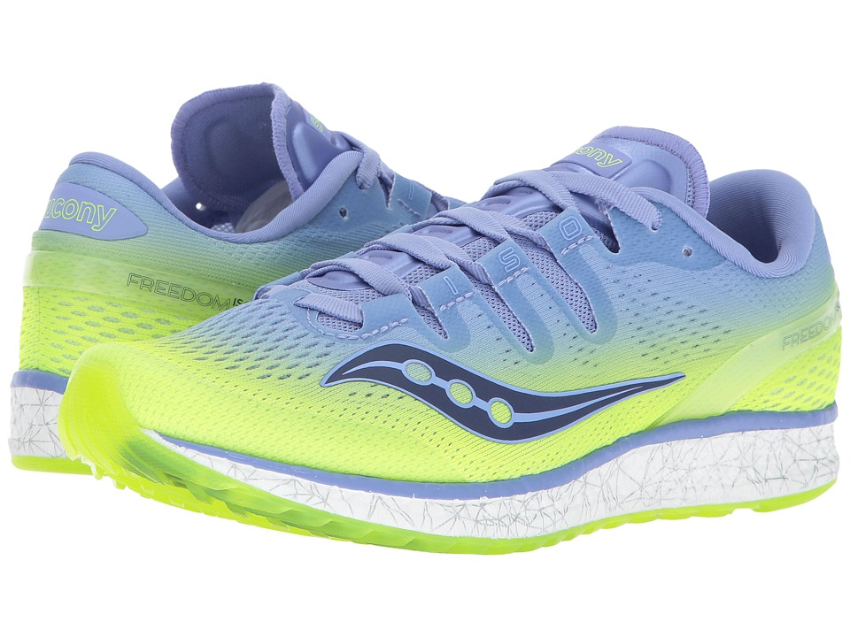 Saucony Freedom ISO (Purple/Citron) Women