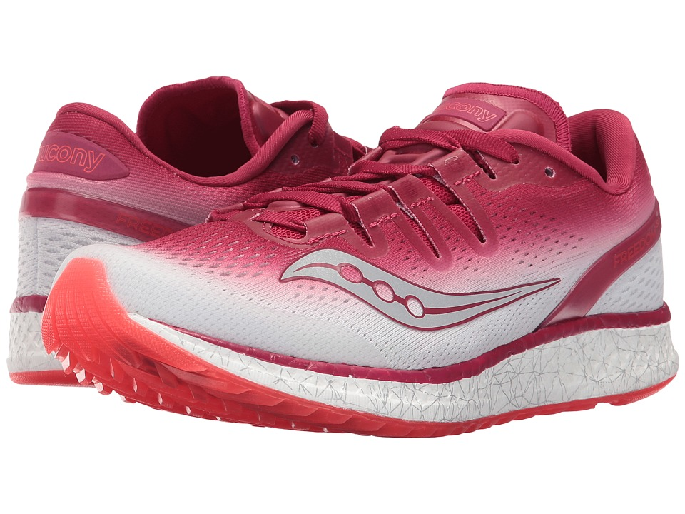 Saucony Freedom ISO (Berry/White) Women