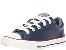 Converse Kids Chuck Taylor All Star Street Leather and Fleece Slip (Little Kid/Big)