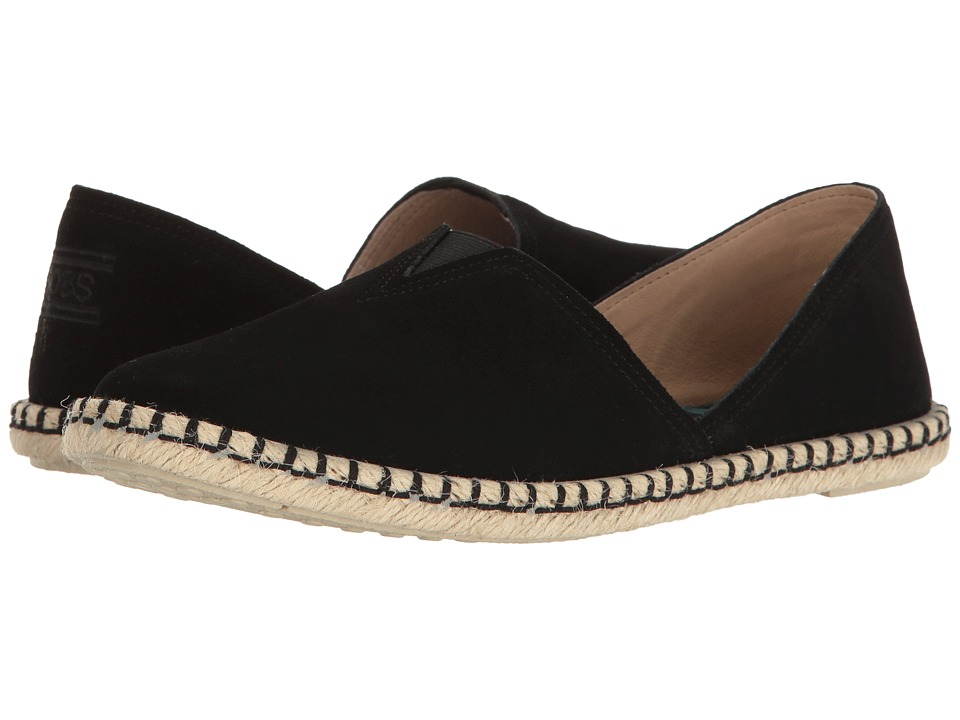 BOBS from SKECHERS - Day 2 Nite (Black) Women's Slip on  ...