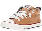 Converse Kids - Chuck Taylor All Star Street Leather and Fleece Mid (Little Kid/Big Kid)