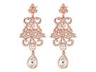 Art Nouveau Chandelier Statement Earrings
