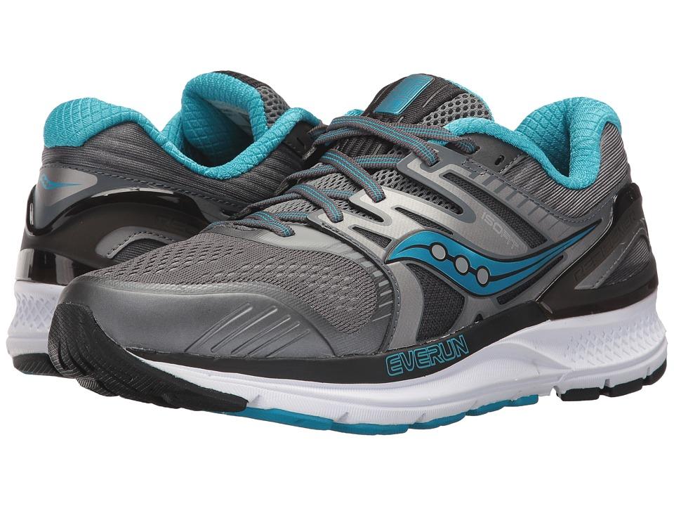 Saucony Redeemer ISO 2 (Grey/Black/Blue) Women's Running Shoes