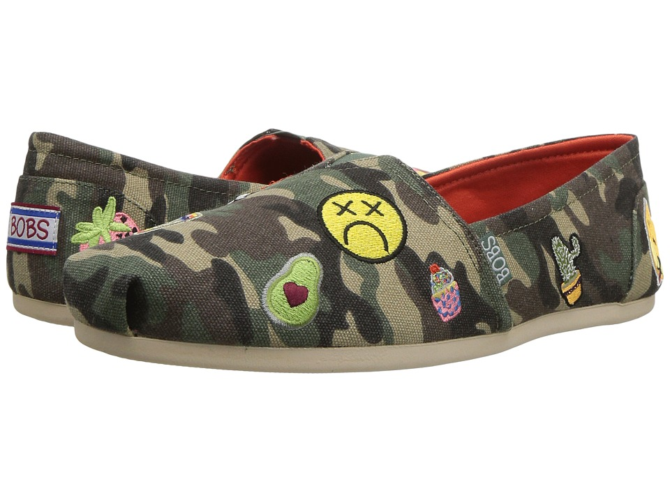 BOBS from SKECHERS Bobs Plush Perfect Patch (Camoflauge) Women