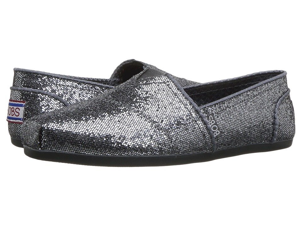 BOBS from SKECHERS Bobs Plush Friday Night (Pewter) Women