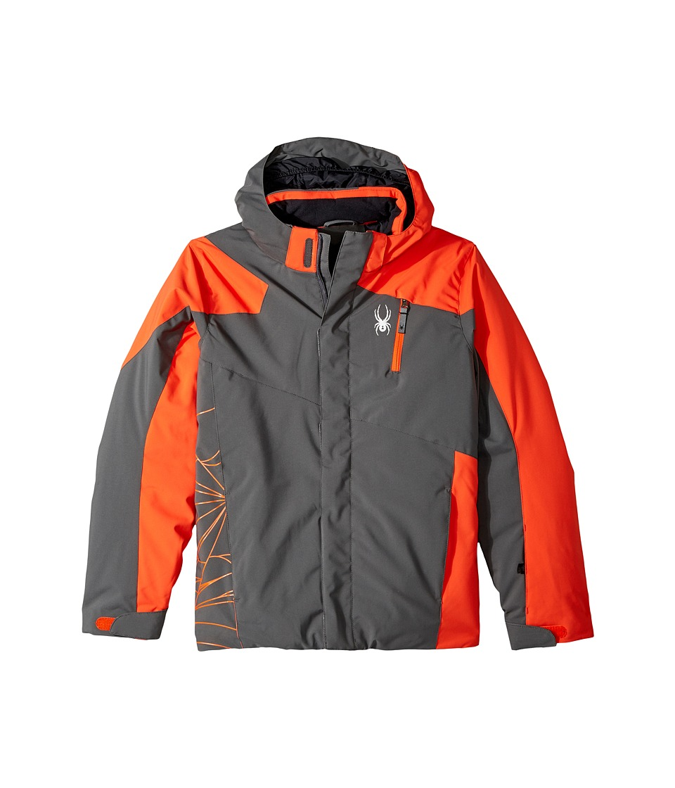 Spyder Kids - Guard Jacket (Big Kids) (Polar/Brush) Boys Jacket