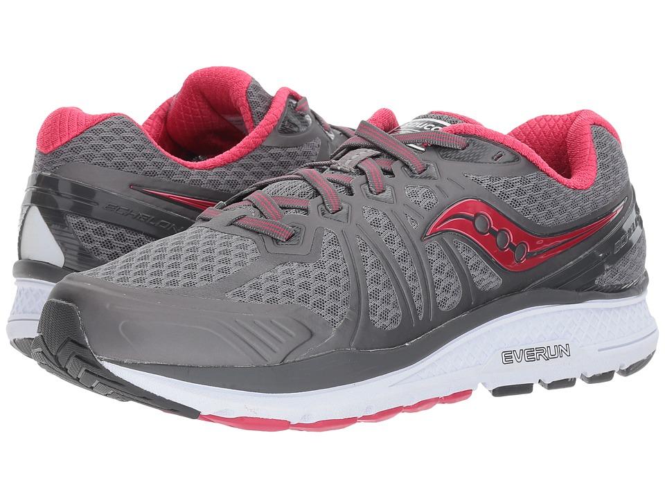 Saucony Echelon 6 (Grey/Pink) Women's Running Shoes