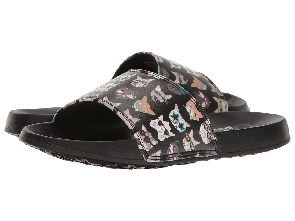 BOBS from SKECHERS 2nd Take Pawtopia (Black) Women