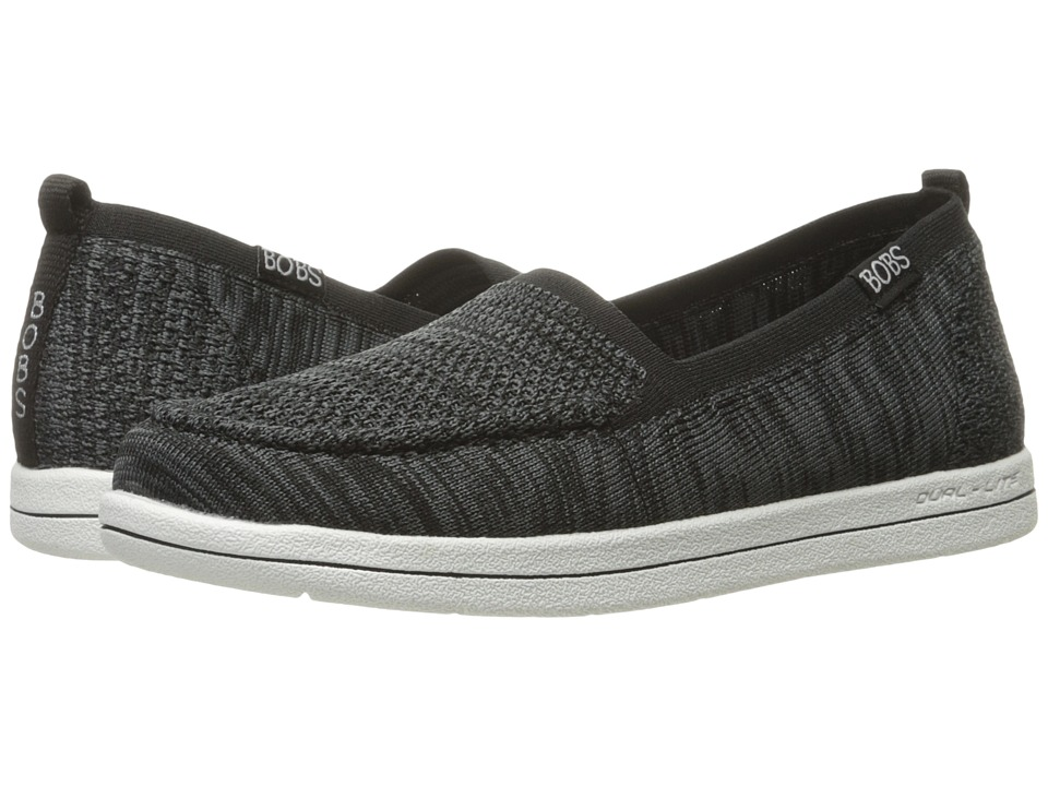 BOBS from SKECHERS Bobs Super Plush Gritty Knitty (Black) Women