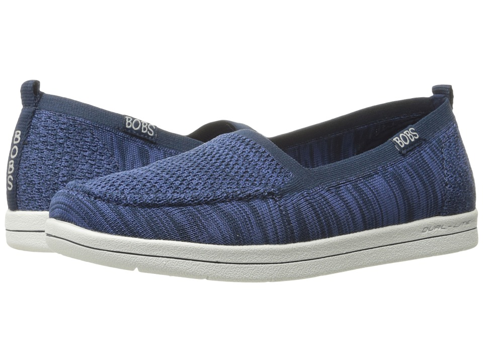 BOBS from SKECHERS Bobs Super Plush Gritty Knitty (Blue) Women