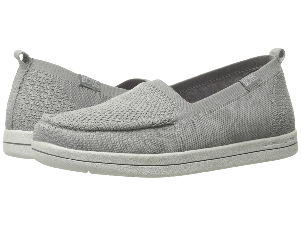 BOBS from SKECHERS Bobs Super Plush Gritty Knitty (Gray) Women