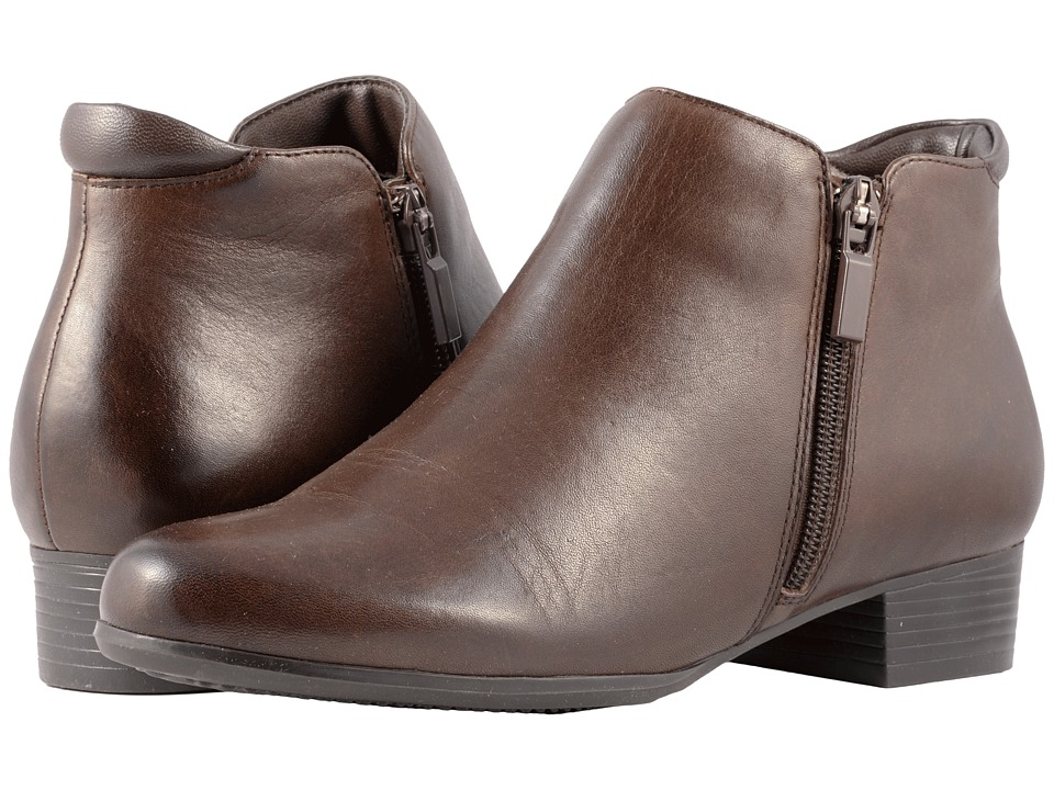 Trotters Major (Dark Brown Smooth Leather)