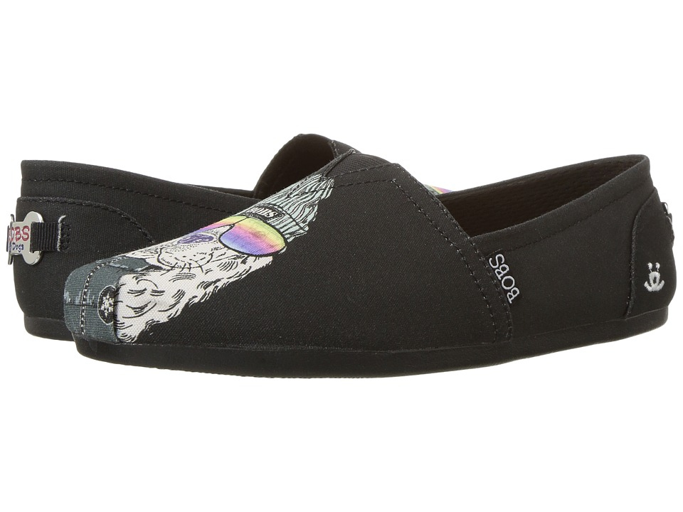 BOBS from SKECHERS Bobs Plush Outpaws (Black) Women